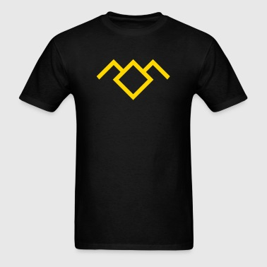 Twin peaks  - Men's T-Shirt