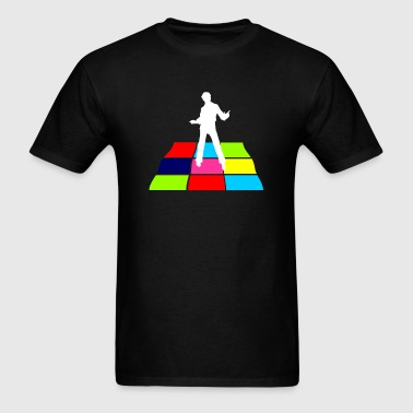 Disco Man On Dance Floor - Men's T-Shirt