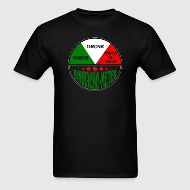Cinco De Mayo Borracho Drunk Meter design - Men's T-Shirt