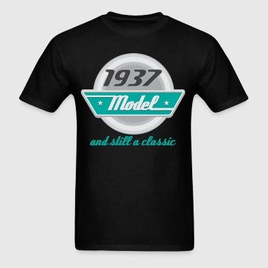 1937 Birth Year Birthday - Men's T-Shirt