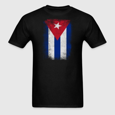 Cuba Flag Proud Cuban Vintage Distressed - Men's T-Shirt