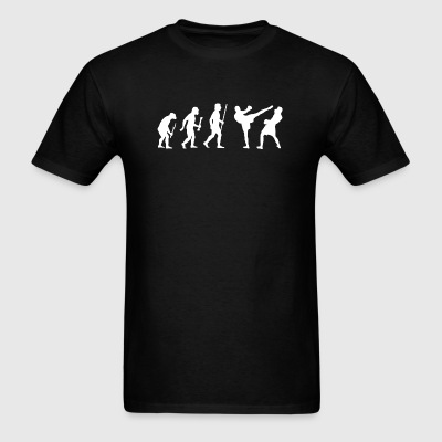 Kickboxing - Kickboxing evolution - Men's T-Shirt