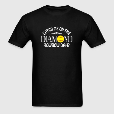 Softball - Coach Me On The Diamond T Shirt - Men's T-Shirt