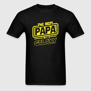 Papa - The Best Papa in the Galaxy - Men's T-Shirt