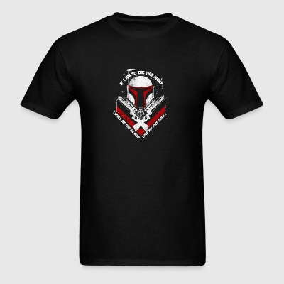 Mandalorian - The night does not pass quietly - Men's T-Shirt