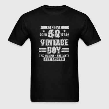 60 Years - Aged 60 Years Vintage Boy T Shirt - Men's T-Shirt