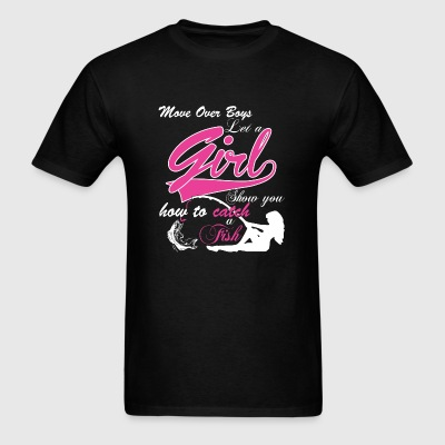 FISH - MOM OVER BOYS LET A GIRL SHOW YOU HOW TO - Men's T-Shirt