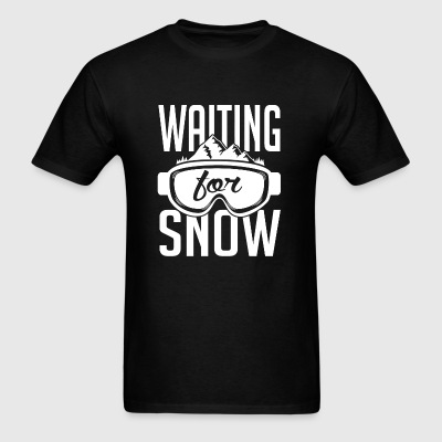 Skiing - Skiing: Waiting for snow - Men's T-Shirt
