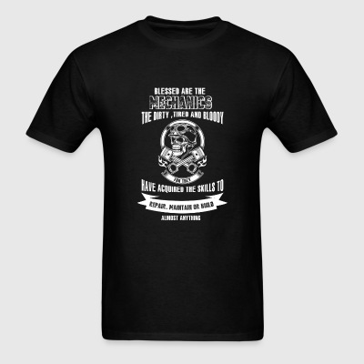 Mechanics - Skills to repair, maintain or build - Men's T-Shirt