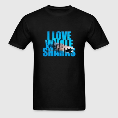 I Love Whale Sharks - Men's T-Shirt