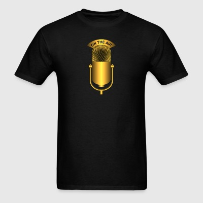 on the air gold - Men's T-Shirt