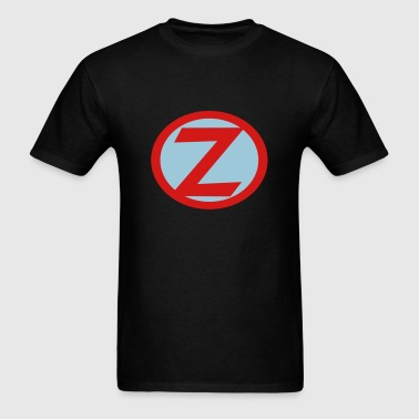 Super, Hero, Heroine, Initials, Super Z - Men's T-Shirt