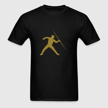Golden Javelin Throw - Men's T-Shirt