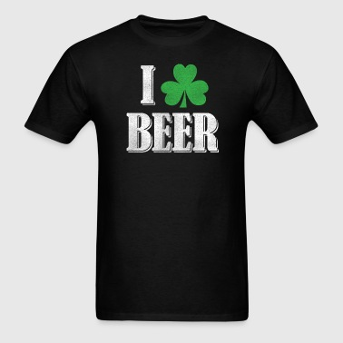 I Shamrock Beer - Green - Men's T-Shirt