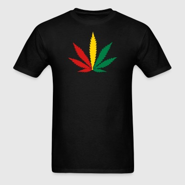 weed marijuana cannabis rasta - Men's T-Shirt