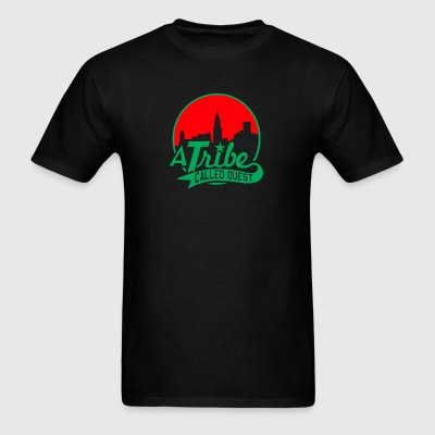 a_tribe_called_quest_green_red - Men's T-Shirt