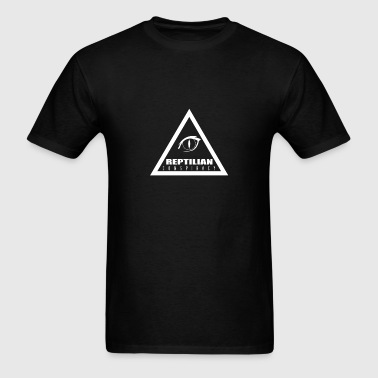 Reptilian Conspiracy - Men's T-Shirt