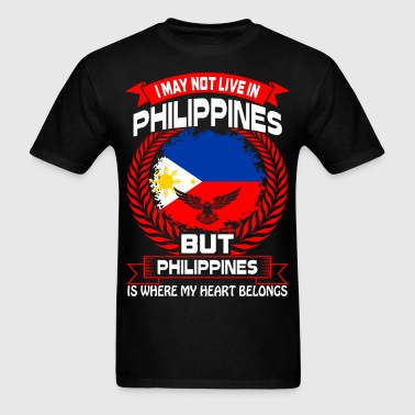 Philippines Is Where My Heart Belongs Country Tees - Men's T-Shirt