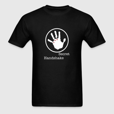 Ripped Hand - Secret Handshake - Men's T-Shirt