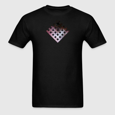 Galaxy Grid - Men's T-Shirt