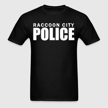 raccoon_city_police_t_shirt - Men's T-Shirt