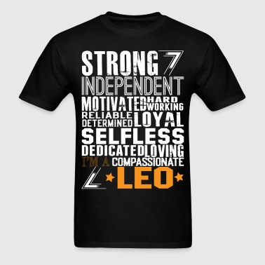 Strong Independent Motivated Leo - Men's T-Shirt