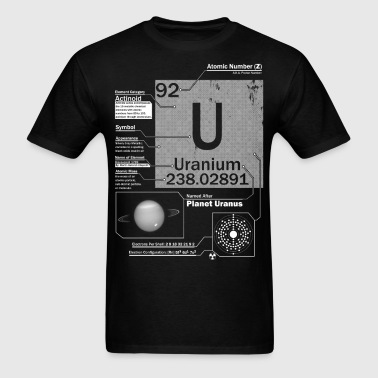 Uranium t shirt - Men's T-Shirt