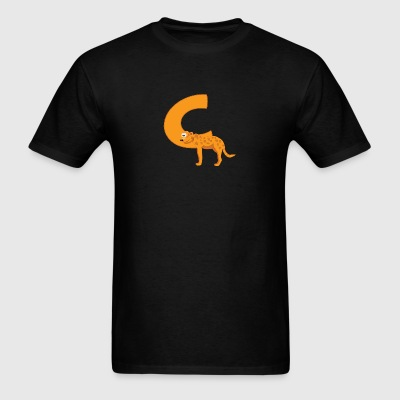 C Is For Cheetah - Men's T-Shirt