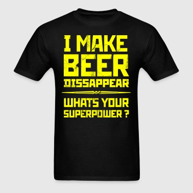 Beer Superpower. - Men's T-Shirt