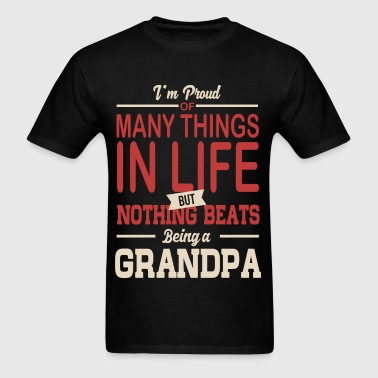 Proud To Be Grandpa - Men's T-Shirt