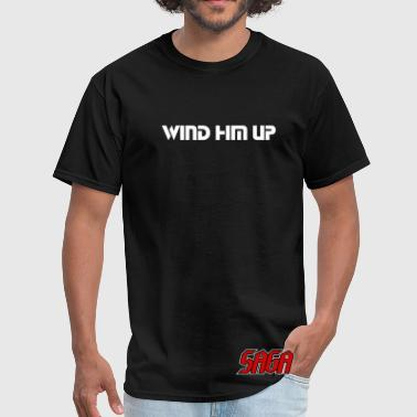 Saga - Ladies - Wind Him Up - double sided shirt - Men's T-Shirt