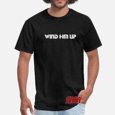 Saga Saga - Ladies - Wind Him Up - double sided shirt - Men's T-Shirt