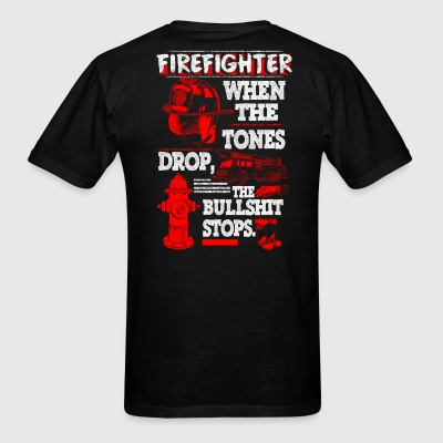 FIRE FIGHTER SHIRT - Men's T-Shirt