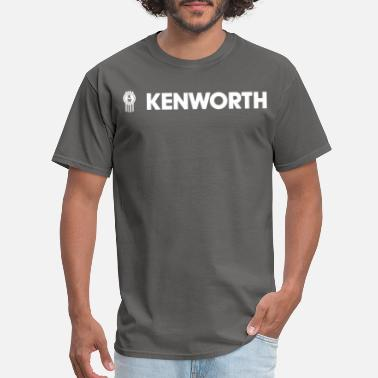 Kenworth Logo Kenworth Trucks truckers mechanics drive dump trac - Men's T-Shirt