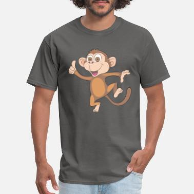 Happy Monkey Design - Men's T-Shirt