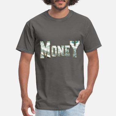 Dollar Bill Money one dollar hustler font for ballers - Men's T-Shirt