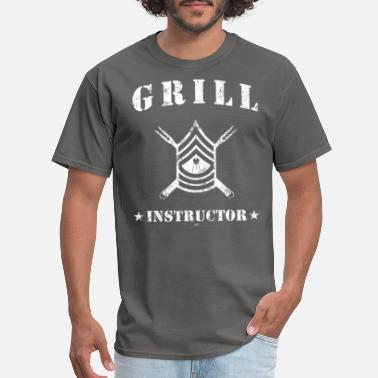 Grill Grill Instructor - Men's T-Shirt