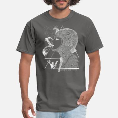 Dark Art Art Nouveau - the Flower dark - Men's T-Shirt
