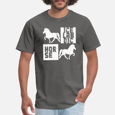 Icelandic Horse Icelandic Horse: Pony Merch - Men's T-Shirt
