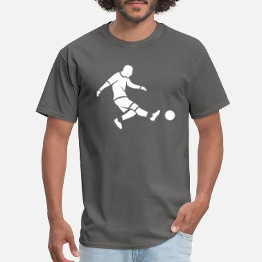 Penalty Kick Soccer Football Play Soccer Hobby Gift Idea - Men's T-Shirt