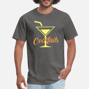 cocktails glass - Men's T-Shirt