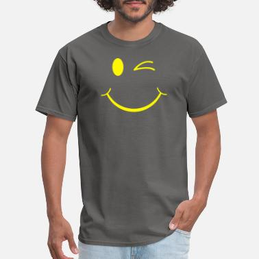 Winking Smiley Wink Smiley - Men's T-Shirt