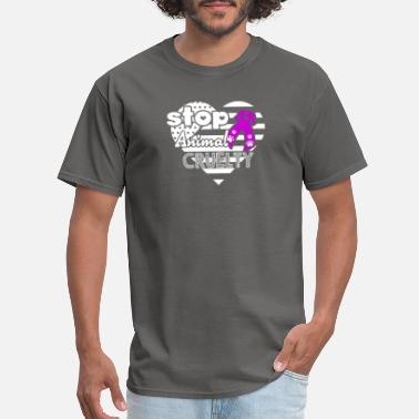 Animal Awareness Animal Cruelty Awareness Shirt - Men's T-Shirt