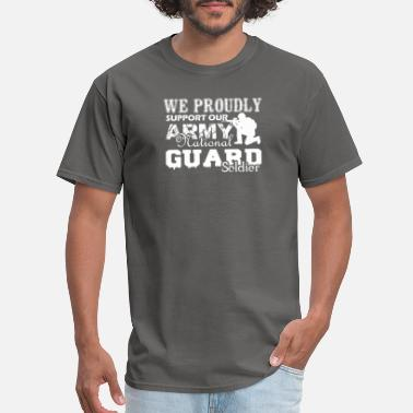 Army National Guard Army National Guard Soldier Shirt - Men's T-Shirt