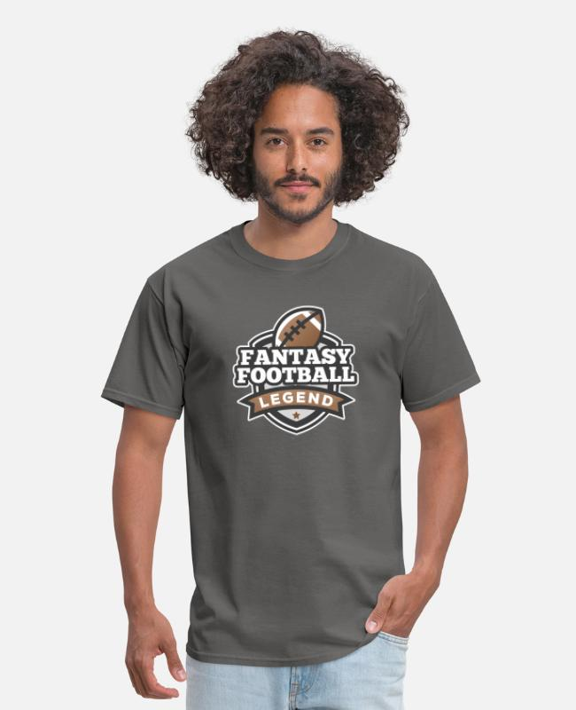 Deity T-Shirts - I'm a Fantasy Legend Funny Fantasy Football Gifts - Men's T-Shirt charcoal