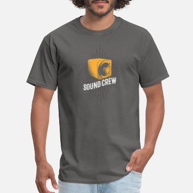 Stage Sound Crew Retro Sound Engineer Stage Crew Gifts - Men's T-Shirt