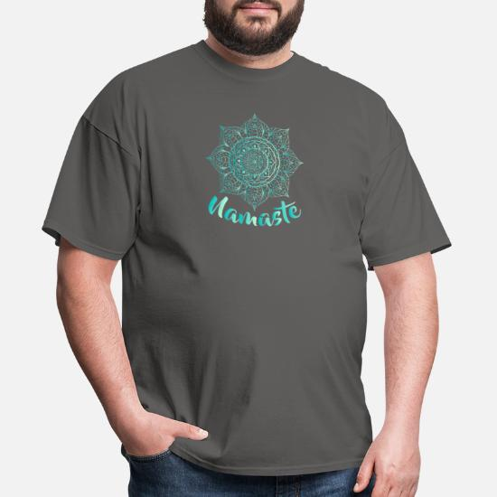 Yoga Shirt Zen Meditation Namaste Motivational Lotus Flower Abstract Yoga Top Spiritual Shirt Unisex Shirt Inspirational
