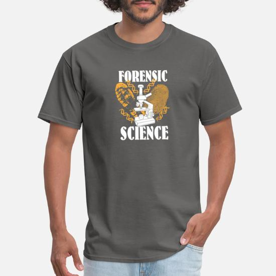 Forensic Science Shirt Detective Crime Scene Gifts Men S T Shirt Spreadshirt