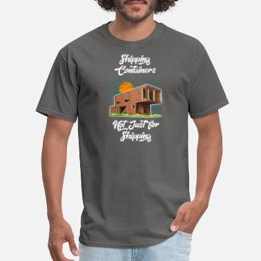 Container Ship Shipping Container - Men's T-Shirt