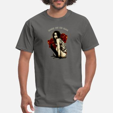 Red Demon demon girl with red eyes - Men's T-Shirt